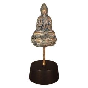 urn boedha lotus asbeeld
