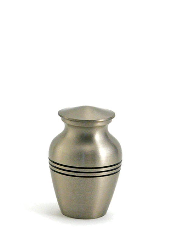 mini urn grecian in kleur brons of tin keepsake