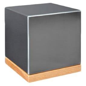 Urn of miniurn Cube vierkant RVS met of zonder houder