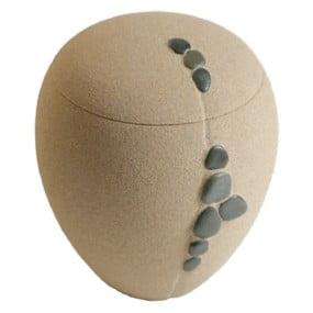 ecologische urn of mini urn kei zand urn