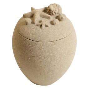 bio urn zand urn of mini urn zeester oceana