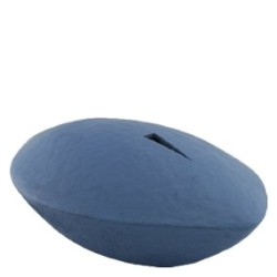 zee urn memento blue