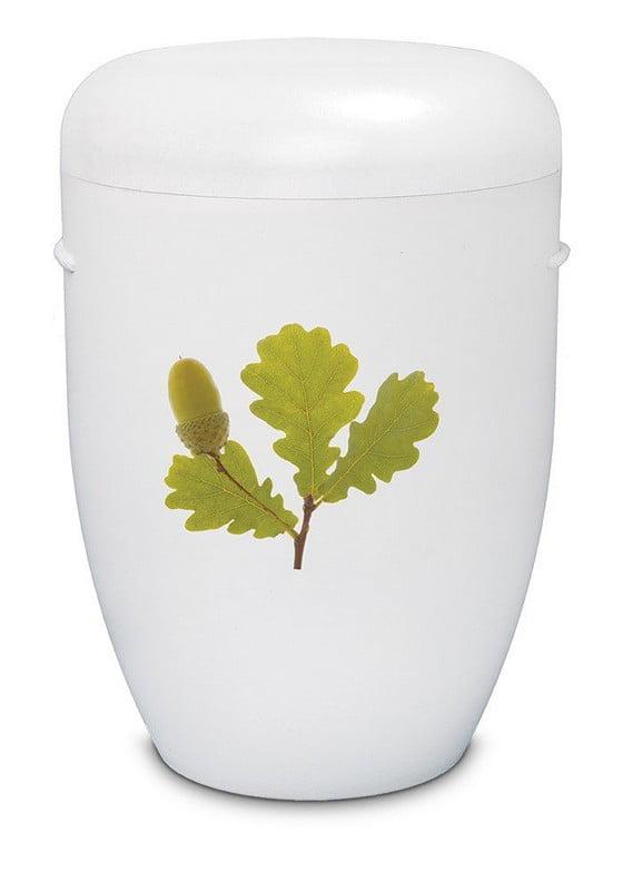 eikenblad wit biologische urn