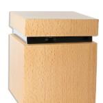 urn of mini urn blank hout vierkant