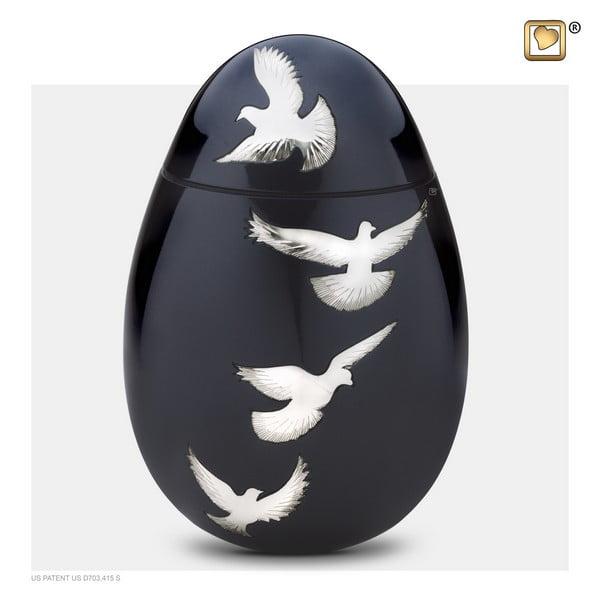 zwarte vogel urn groot adieu nirvana collection