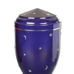 urn ster en maan donkerblauw