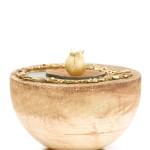 keramiek halve bol urn Folia in twee formaten