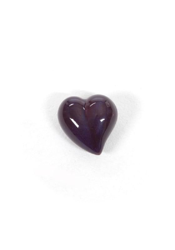mini urn hart keramiek in verschillende kleuren