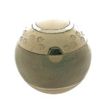 dieren mini urn bolurn M met hondenpootjes of kattenpootjes