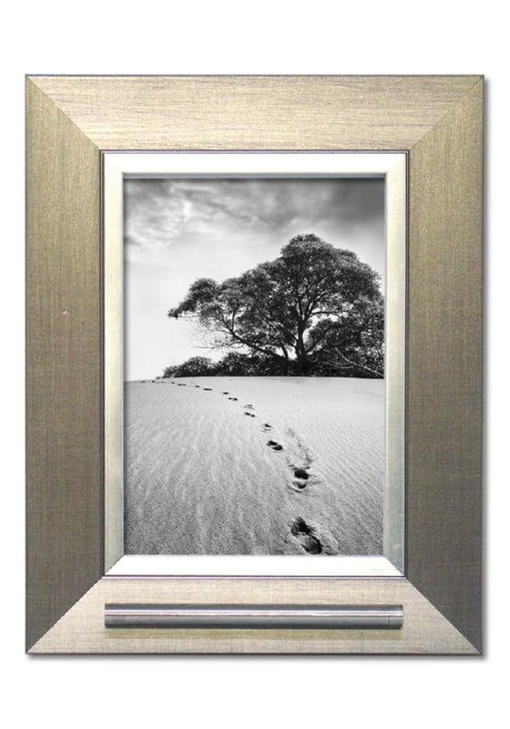 fotolijst met asbusje 13x18 zilver