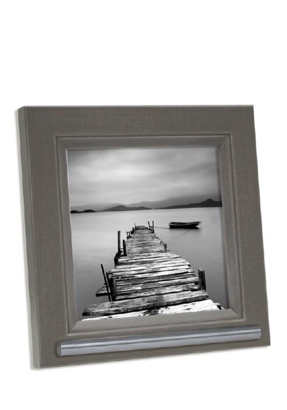 fotolijst met asbusje grijs-bruin