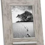 fotolijst met asbusje 13x18 oud grijs