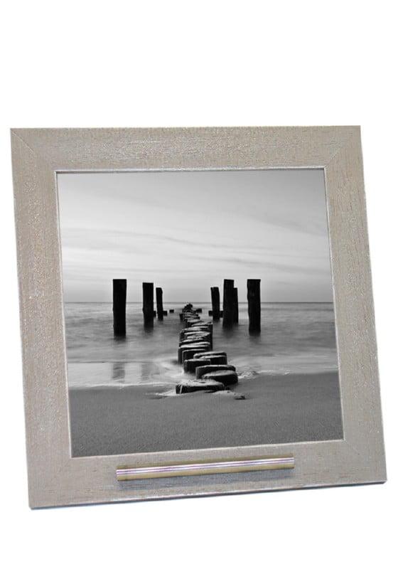 Fotolijst met asbusje 20x20 oud grijs