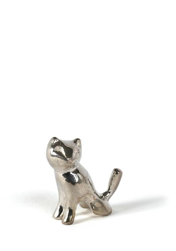 bedel zilver kat