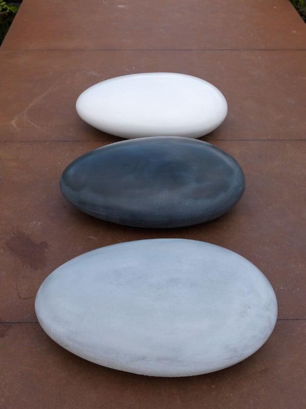 memory stone urn klein wit