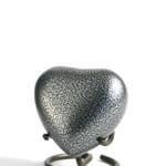 mini urn hart zilver glenwood