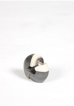 mini urn kiklos zwart wit