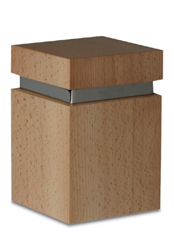 houten urn of mini urn osana vierkant
