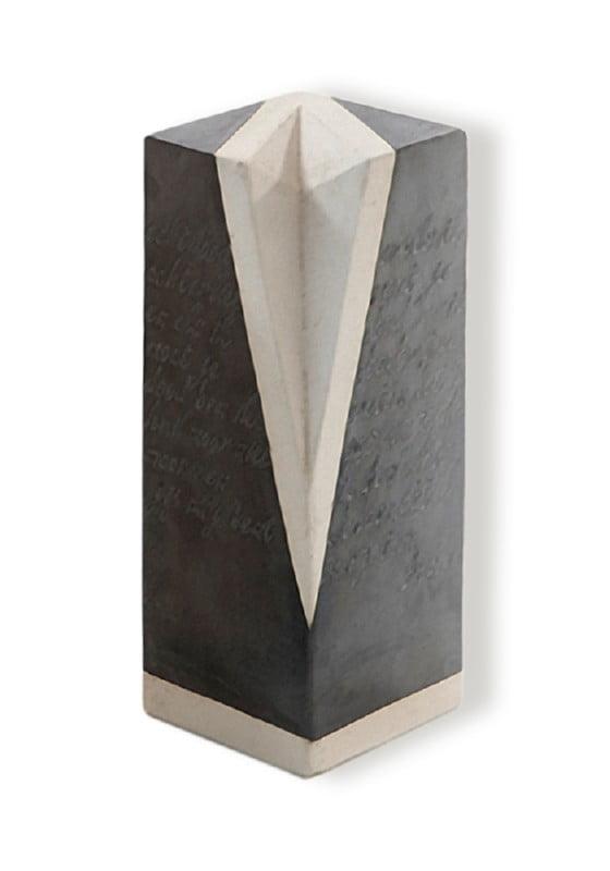 urn lithos zwart wit