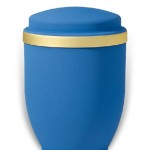urn mat blue goudband medium