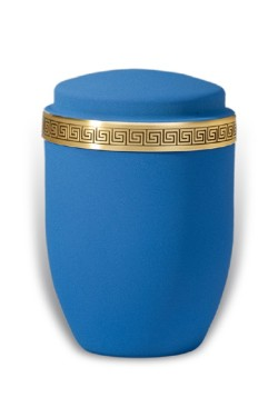 urn mat blue medium