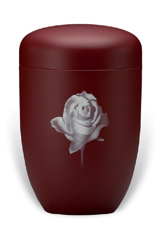 urn mat bordeaux roos
