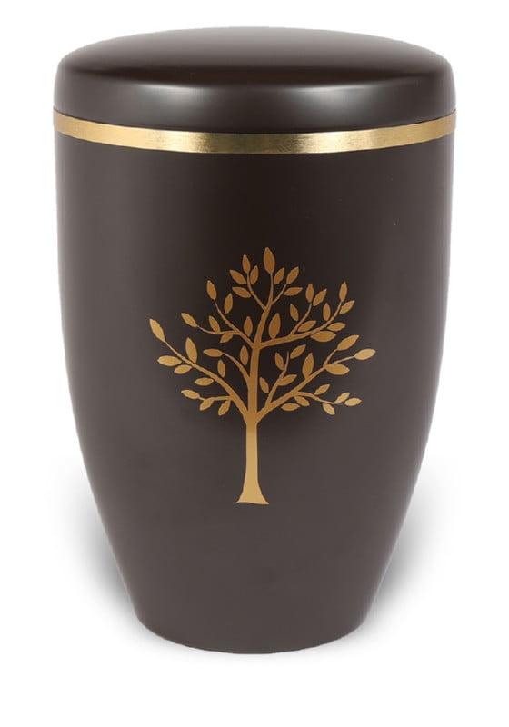 urn mat bruin boom