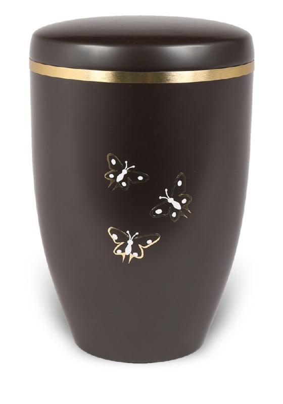 urn mat bruin vlinders