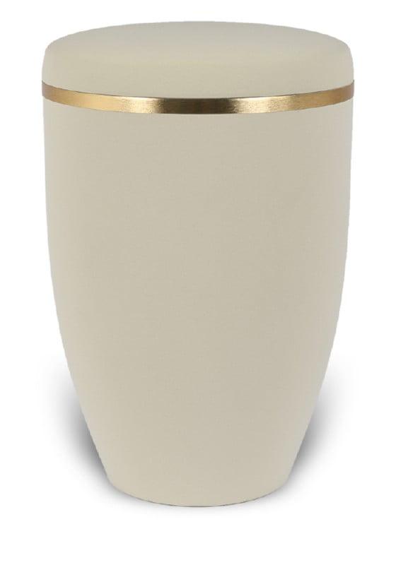 urn mat creme goudband