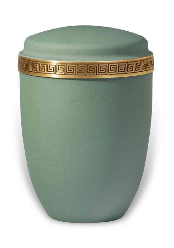 urn mat groen