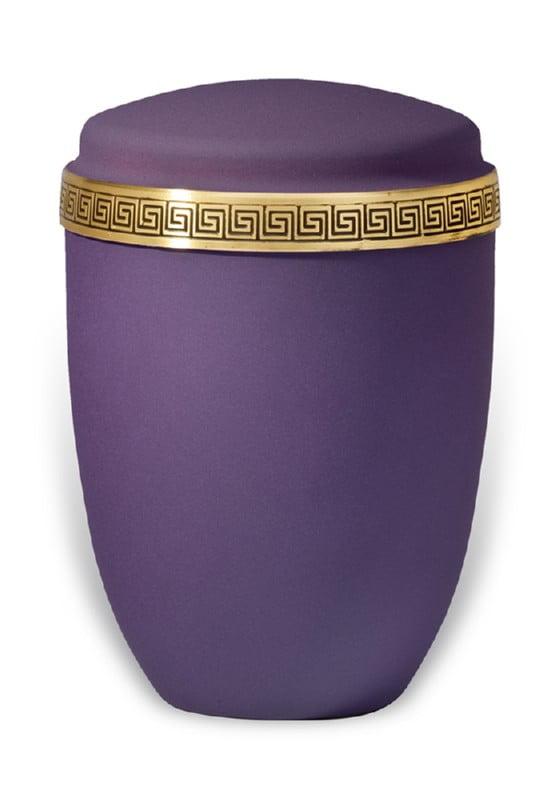urn mat paars