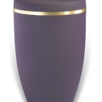 urn mat purple goudband