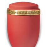 urn mat rood medium
