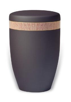 urn mat zwart band rood