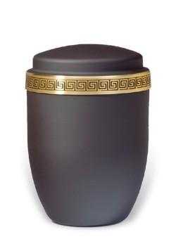 urn mat zwart medium