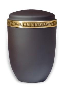 urn mat zwart