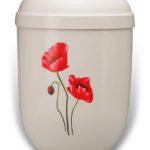 ecologische urn klaproos