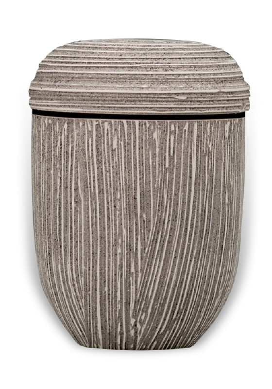 ecologische urn natural grey