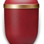 ecologische urn rood