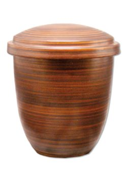 ecologische urn touch of brown