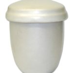 ecologische urn touch of white