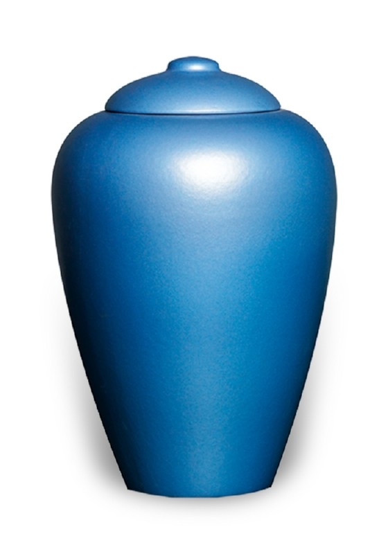ecologische urn bright blue