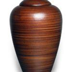 ecologische-urn-bruin-gestreept