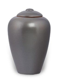 ecologische urn grijs