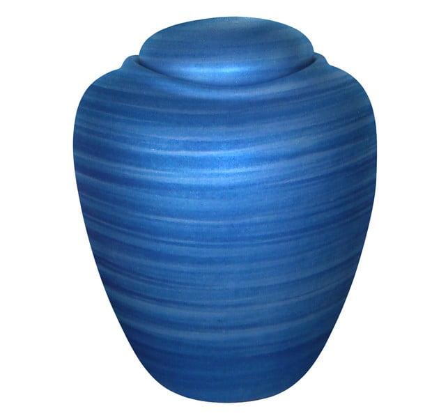 ecologische urn ocean in twee kleuren