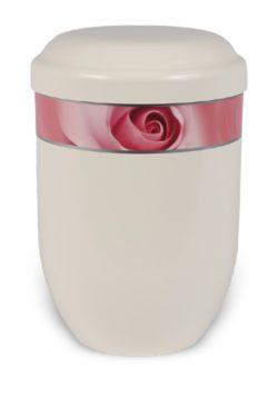 ecologische urn roos