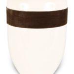 ecologische urn wit bruin