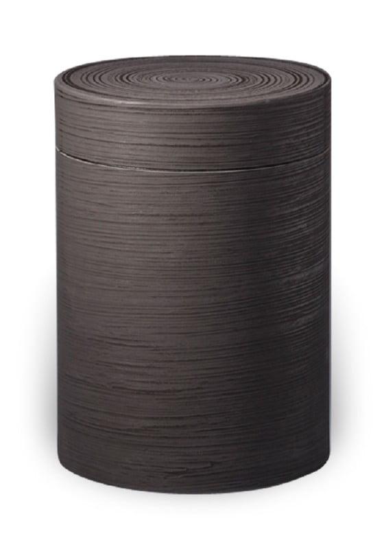 zwart silk ecologische urn