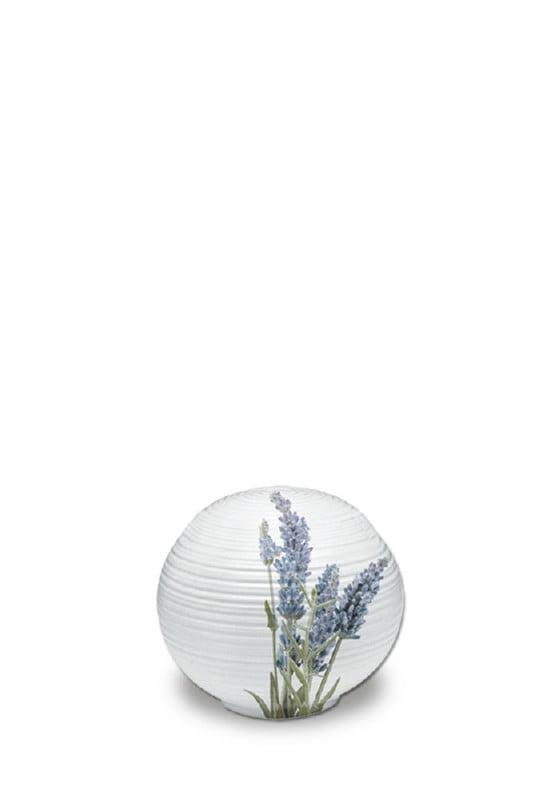 porselein miniurn sfera lavendel