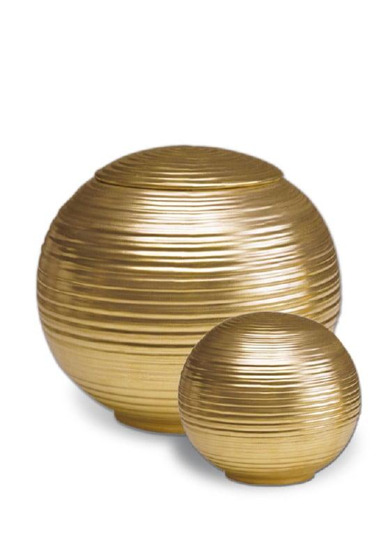 porselein miniurn urn sfera gold